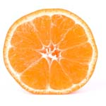 tangerine w clipping path